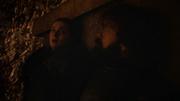 Sansa et Tyrion se cachant