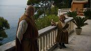 Varys et Tyrion à Pentos (5x01)