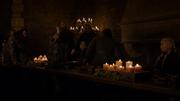 Tormund voulant faire boire Jon