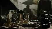 Idoles sur un marché de Port-Réal