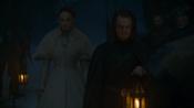 Theon présente Sansa à Roose Bolton