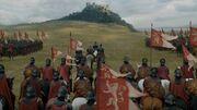 Les Lannister marchent sur Hautjardin