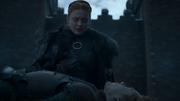 Sansa faisant ses adieux à Theon