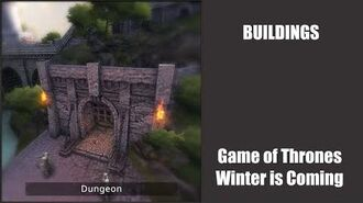 Dungeon - Buildings - Game of Thrones, Winter is coming