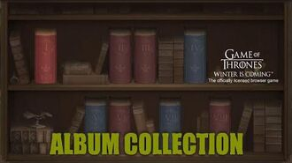Album Collection - Guides - Game of Thrones Winter is Coming