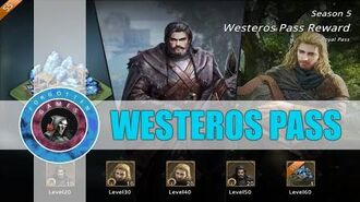 Westeros Pass - Events - Game of Thrones Winter is Coming