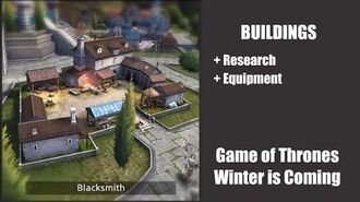 Blacksmith - Buildings - Game of Thrones, Winter is coming