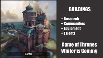 Castle - Buildings - Game of Thrones, Winter is coming