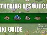 Gathering resources