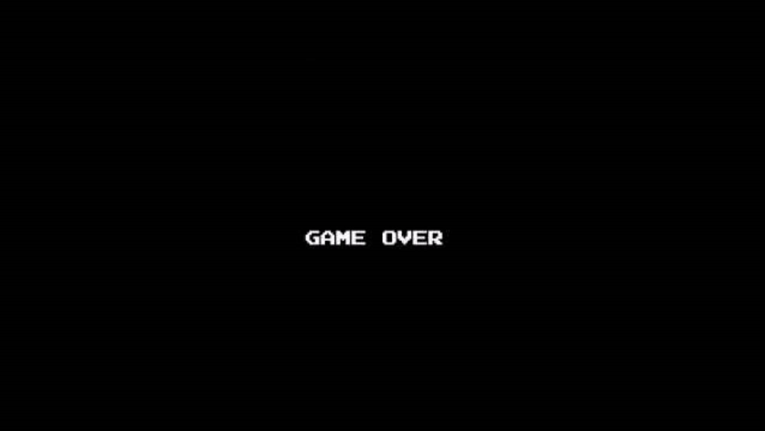 Classic Game Over Screen