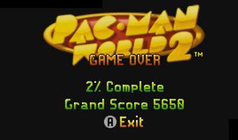 Pac Man World 2 Gba Game Over Dex Wiki Fandom