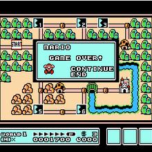 Super Mario Bros 3 Game Over Dex Wiki Fandom