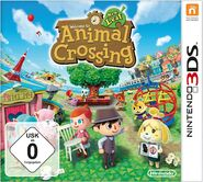 Animal Crossing New Leaf Cover