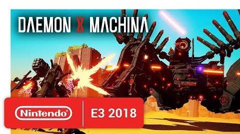 DAEMON X MACHINA - Official Game Trailer - Nintendo E3 2018