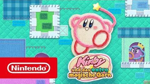 Kirby und das extra magische Garn – Release-Trailer