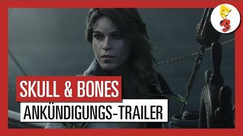 Skull and Bones E3 2017 Ankündigungs-Trailer - AUT