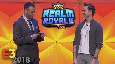 Realm Royale at the E3 2018 PC Gaming Show