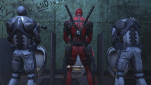 Deadpool Video Game Screenshot 2