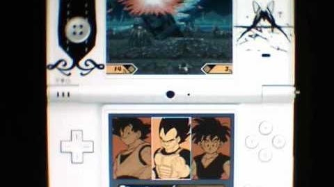 DragonBall Z Supersonic Warriors 2 DS - Gameplay Part 1