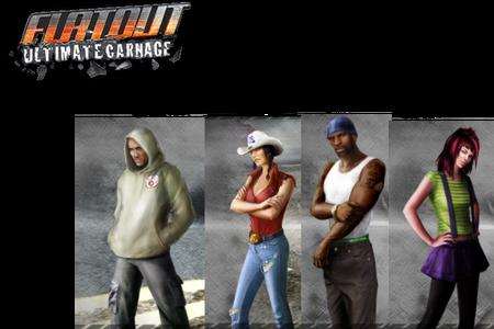 Flatout UC Charaktere