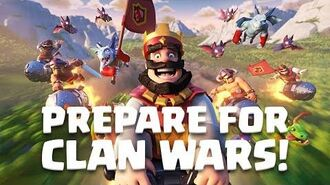 Clash Royale CLAN WARS IS HERE!