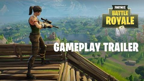 Fortnite Battle Royale - Gameplay Trailer (Play Free Now!)