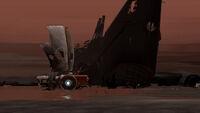 FAR-Lone-Sails Screenshot Sonnenuntergang-Wrack