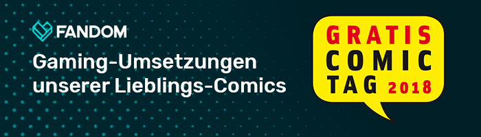Gaming-Umsetzungen - Comics - Blog Header