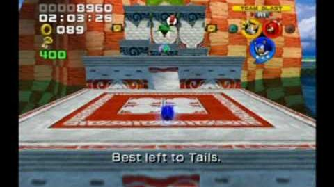 Sonic Heroes Gameplay Part one