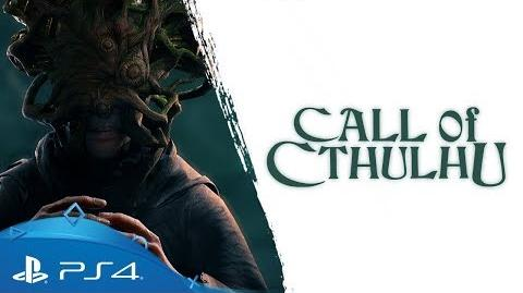 Call of Cthulhu Gameplay Trailer 2 PS4