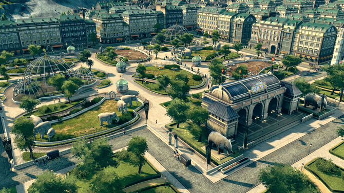 Anno 1800 city planning