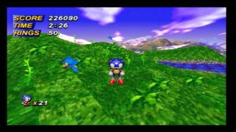 "HD Sonic X-treme - Unreleased Sega Saturn game ""Nights version"" Part 2"