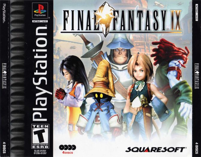 Final Fantasy IX Cover