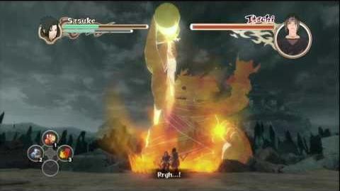 Naruto Shippuden Ultimate Ninja Storm 2 - Sasuke vs Itachi Final Boss Fight HD