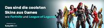 Paysafe Gaming Skins Header