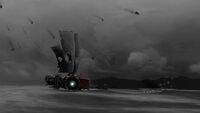FAR-Lone-Sails Screenshot Vulkan-Ausbruch