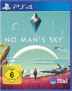 No Mans Sky PS4 Cover