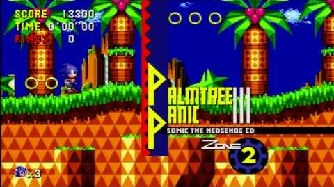 Sonic CD (Xbox 360) Act 1 Gameplay