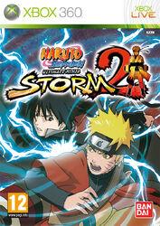 Naruto Shippuuden Ultimate Ninja Storm 2 Cover XBox360