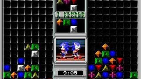 Sonic Eraser (MegaDrive) Gameplay