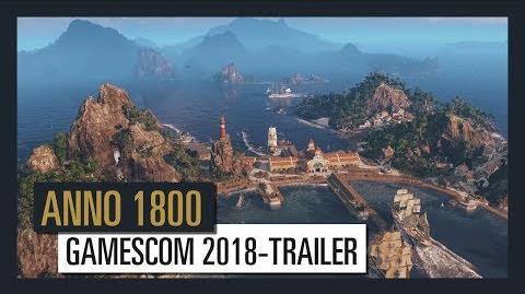 ANNO 1800 GAMESCOM 2018-TRAILER Ubisoft DE
