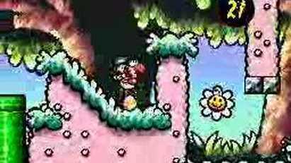 Super Mario World 2 Yoshi Island - funny level