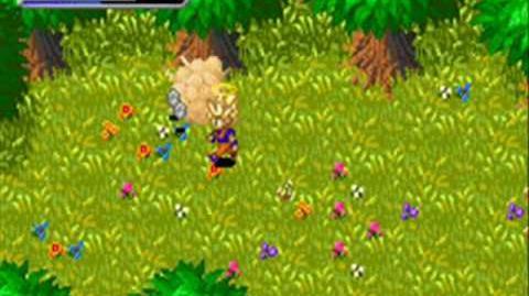 Dragonball Z Buu's Fury GBA Game Play