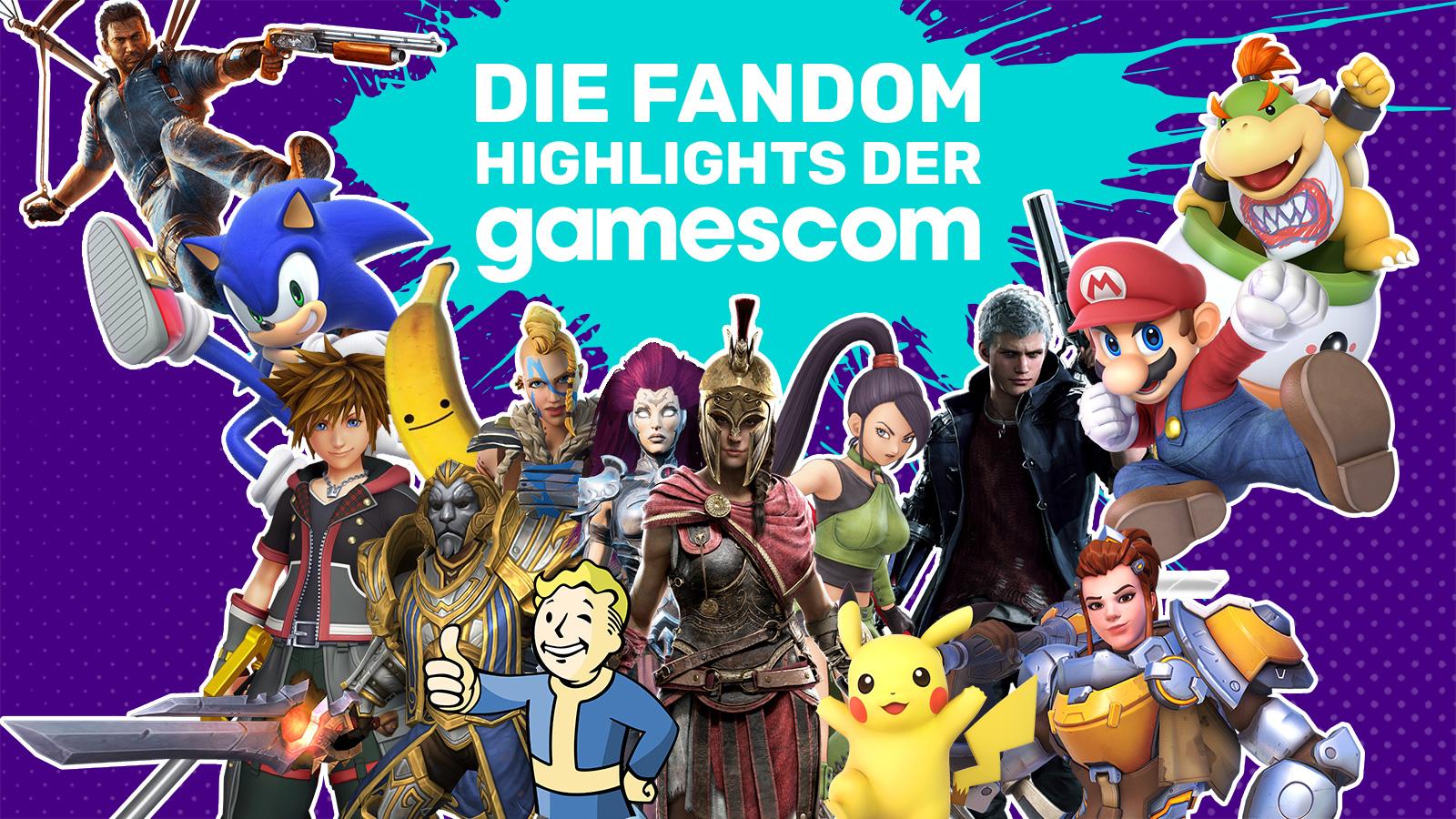 DE FANDOM - gamescom 2018 keyart