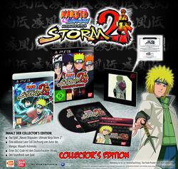 Naruto Shippuuden Ultimate Ninja Storm 2 Collector's edition cover PS3