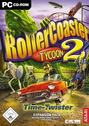 RollerCoaster Tycoon 2 Loopy Time Twister