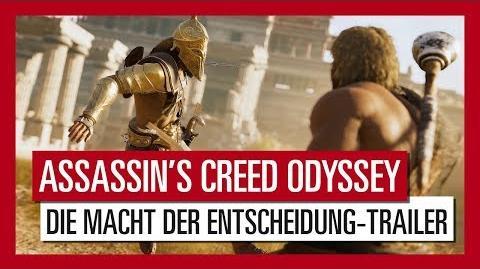 Assassin's Creed Odyssey Die Macht der Entscheidung-Trailer