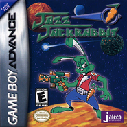 Jazz GBA Cover US