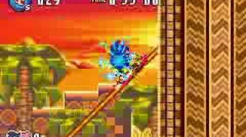 Sonic Advance 3 Gameplay