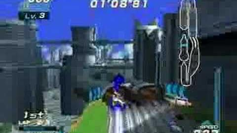 Sonic Riders - Gameplay 1